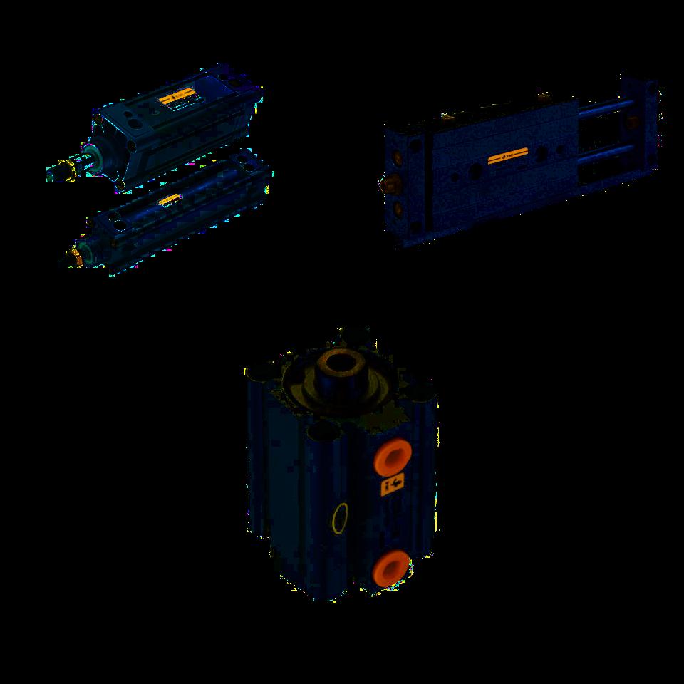Siłowniki EMC typ FVBC, FXBC, SQ, SR